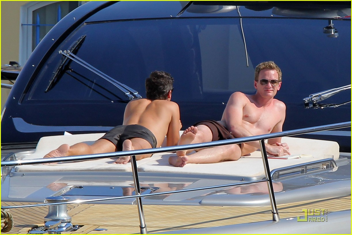 neil patrick harris david burtka vacationing in st tropez 10