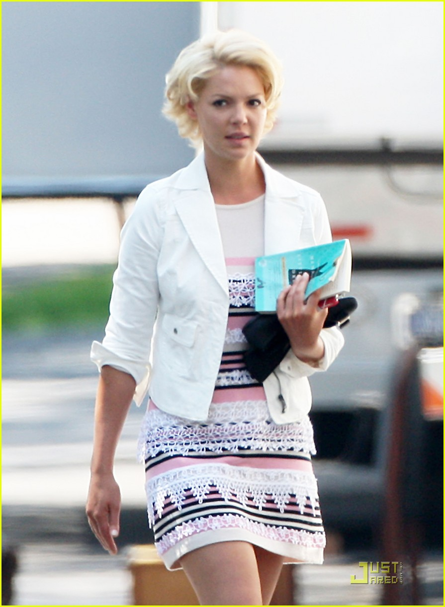 katherine heigl on set of the wedding 01