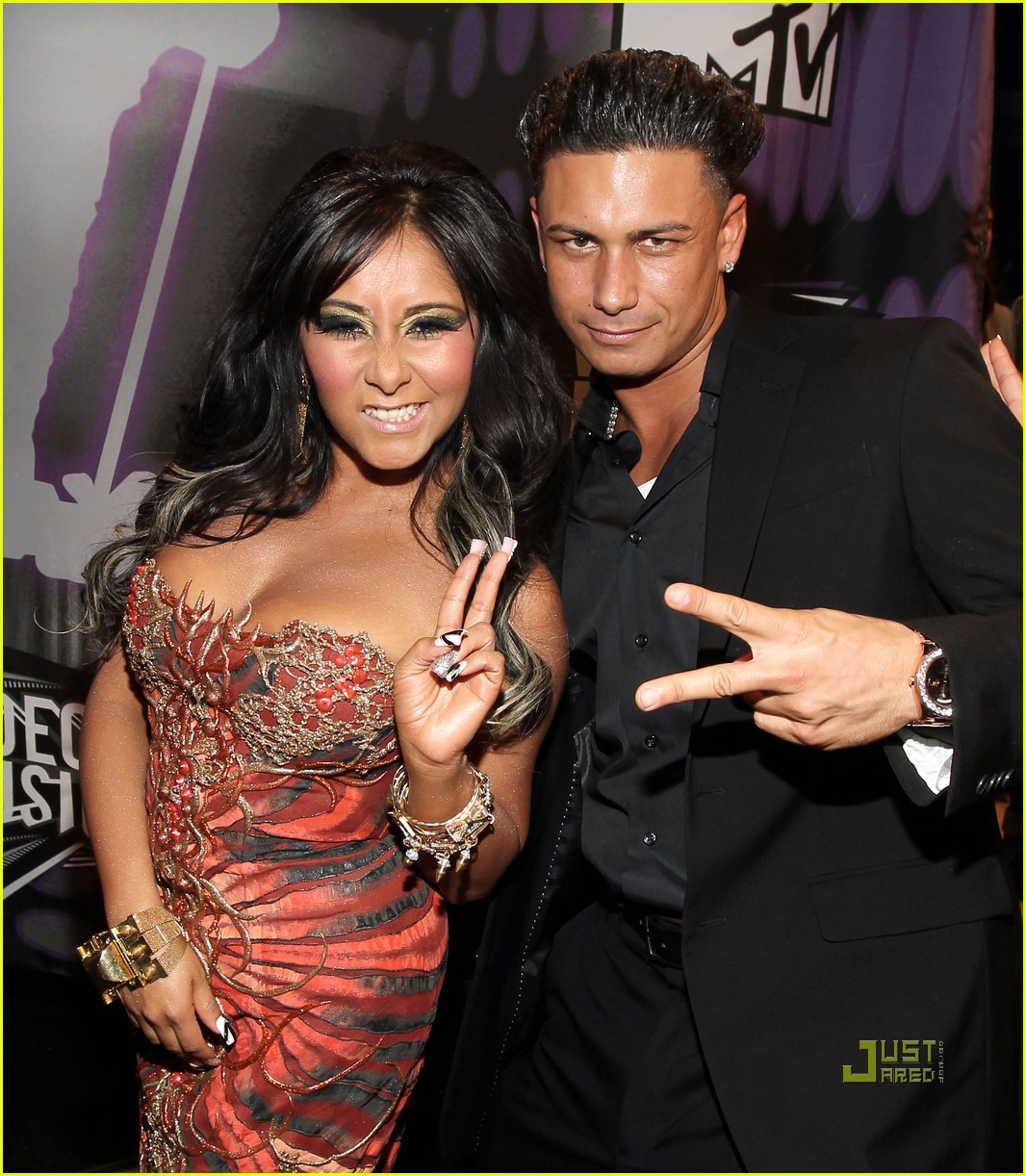 jersey shore mtv vmas 2011 red carpet 03