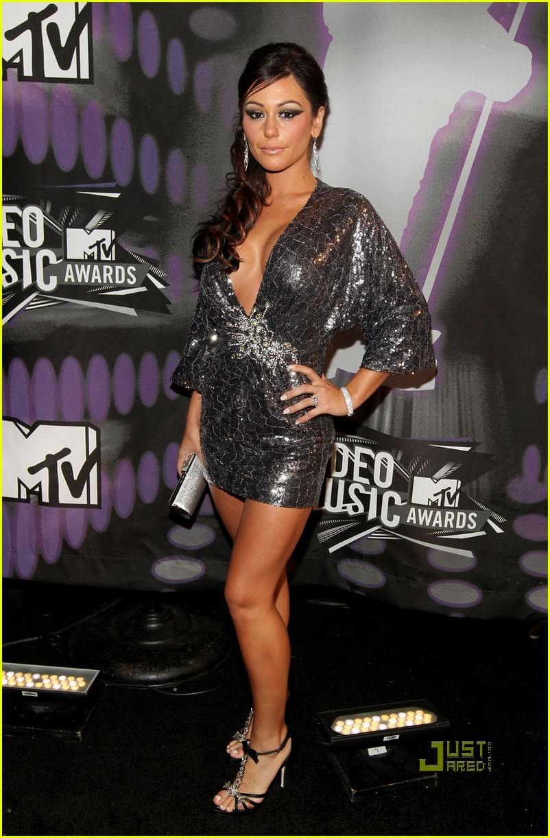 jersey shore mtv vmas 2011 red carpet 05