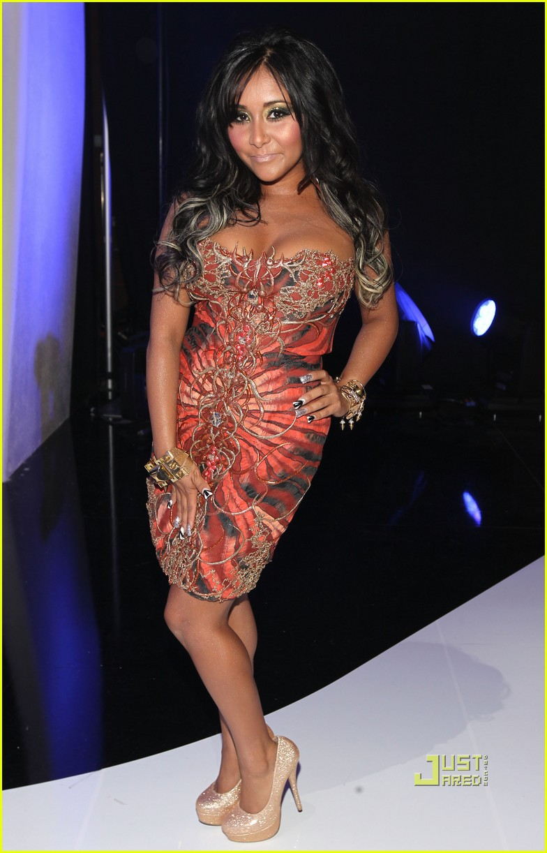 jersey shore mtv vmas 2011 red carpet 06