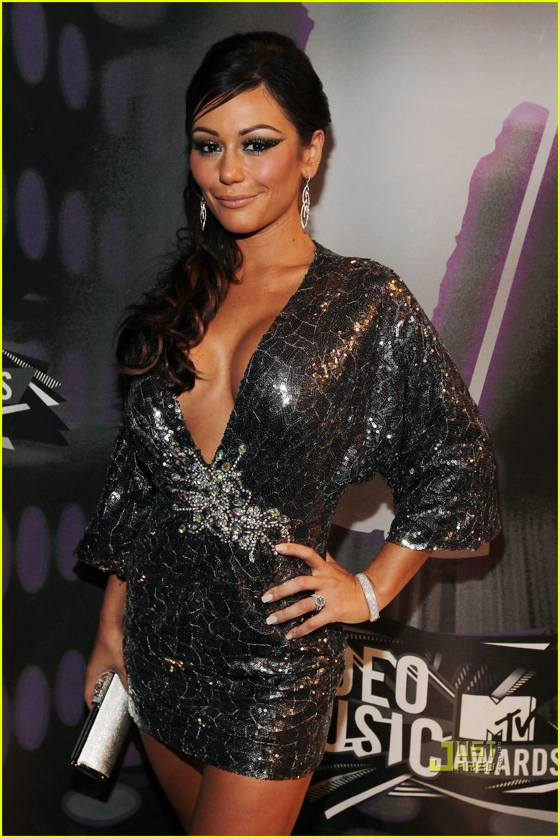 jersey shore mtv vmas 2011 red carpet 08