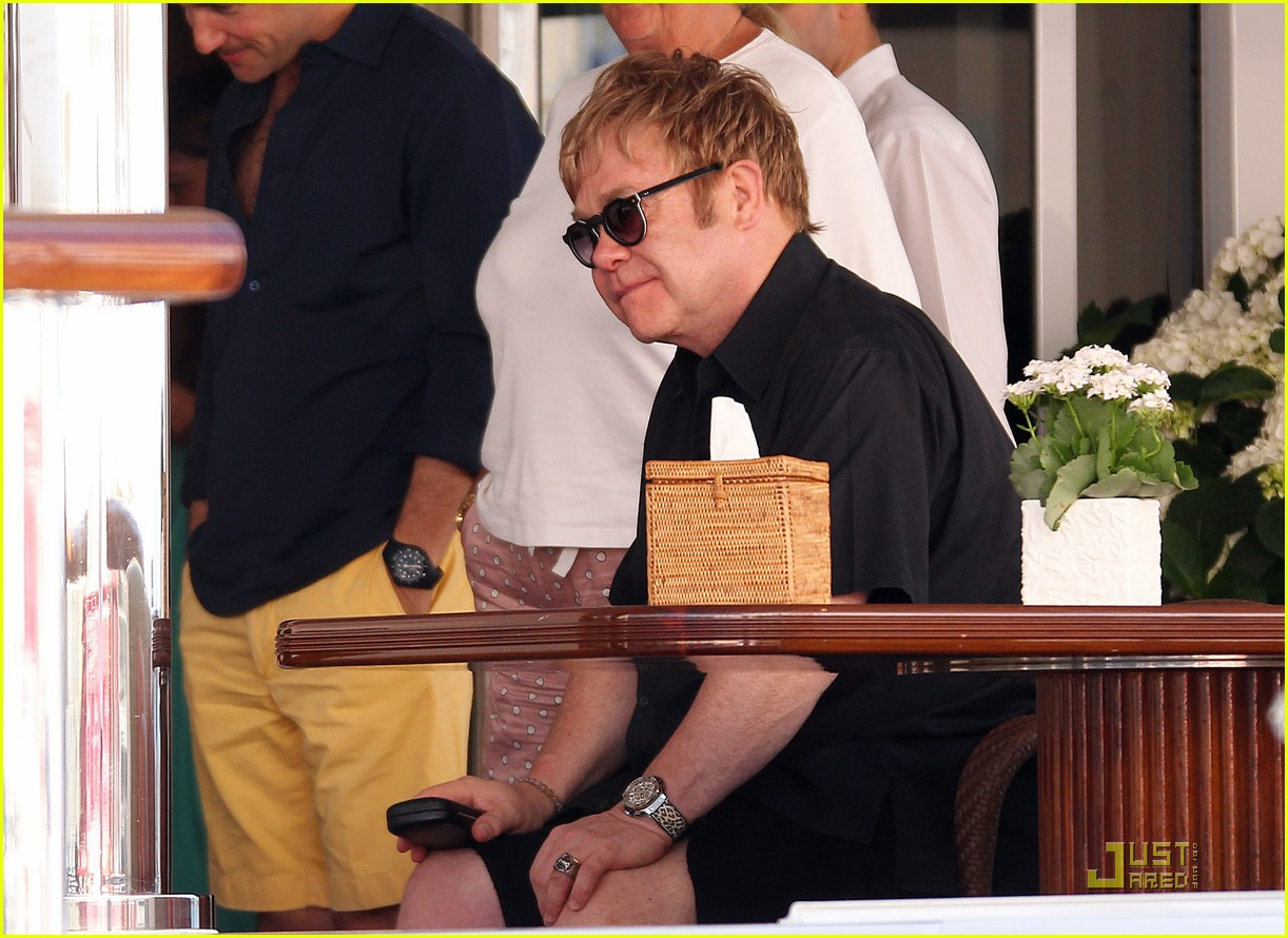 elton john david furnish st tropez with baby zachary 07