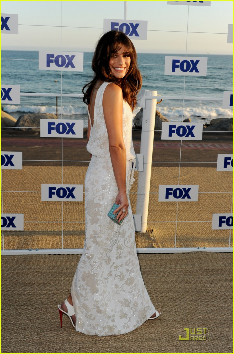 lea michele jenna ushkowitz fox allstar party 08
