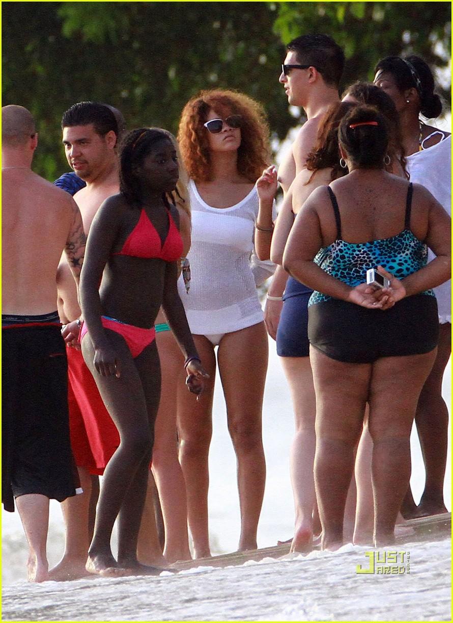 rihanna bikini beach barbados 032566801
