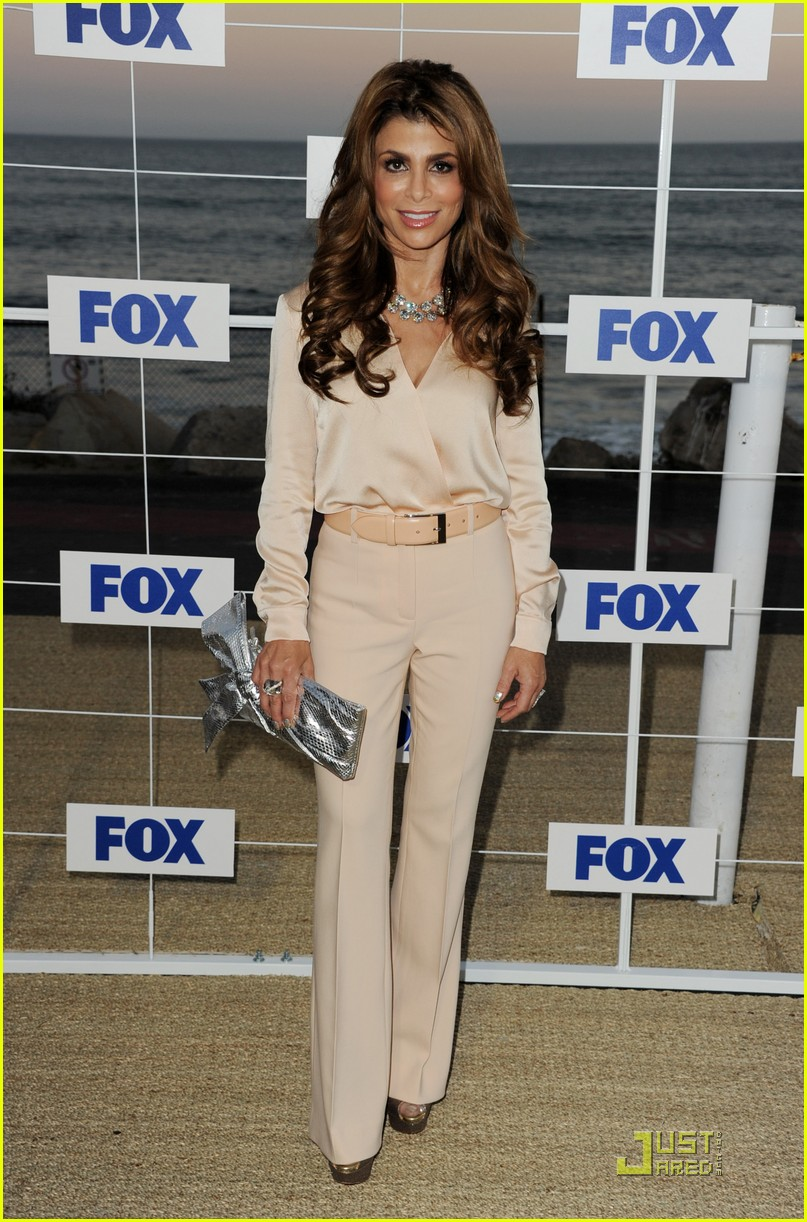 nicole scherzinger paula abdul x factor at fox party 01