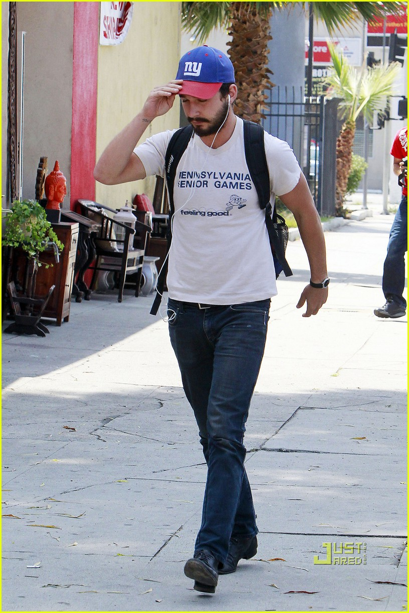 shia labeouf gym senior games shirt 01