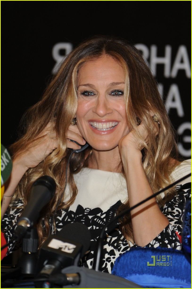 sarah jessica parker dont know how she does it russia 08