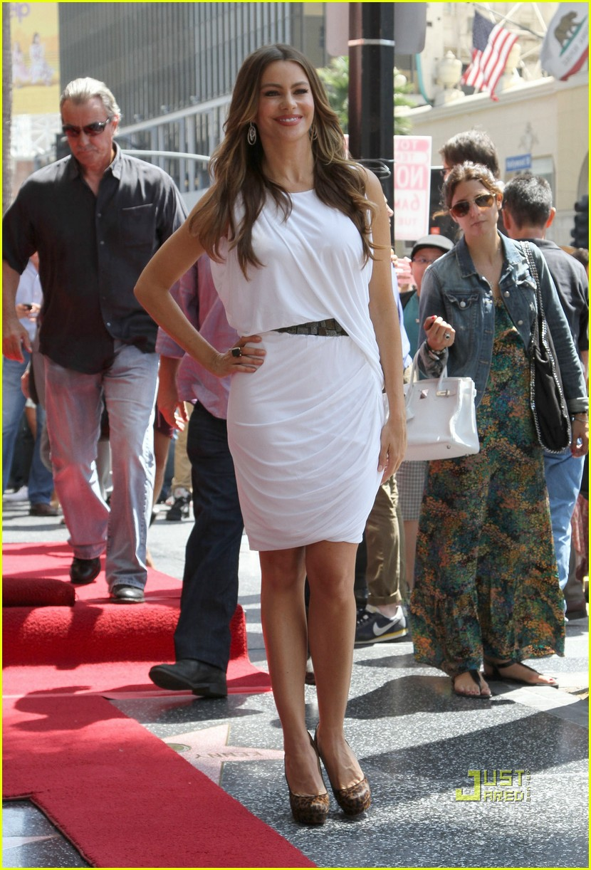 sofia vergara walk of fame 062575160