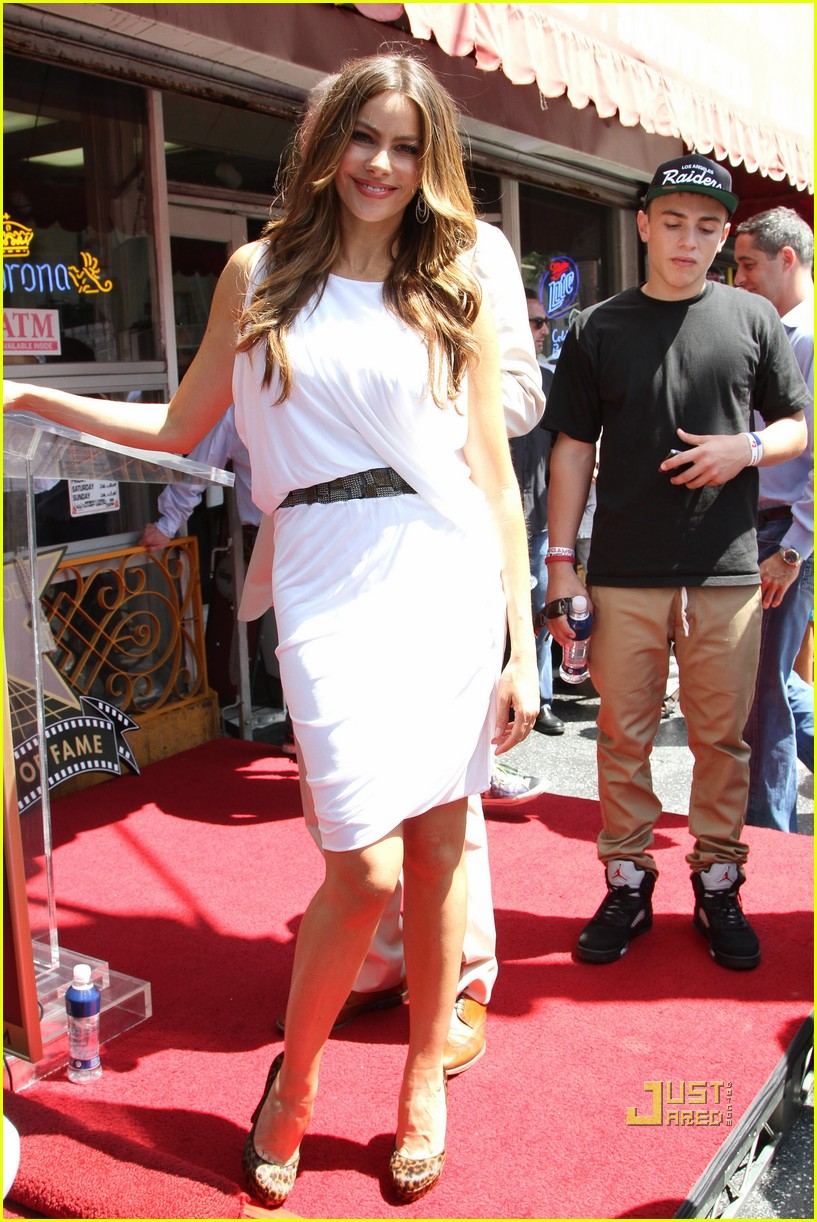 sofia vergara walk of fame 12