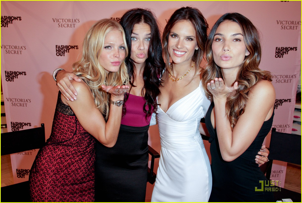 alessandra ambrosio adriana lima fashions night out 24