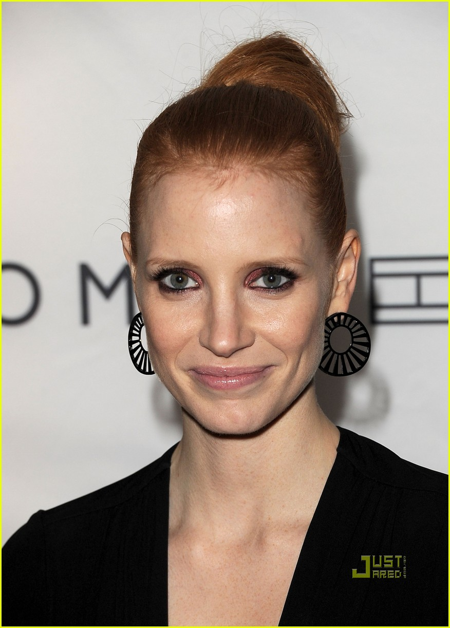jessica chastain instyle hfpa event 09