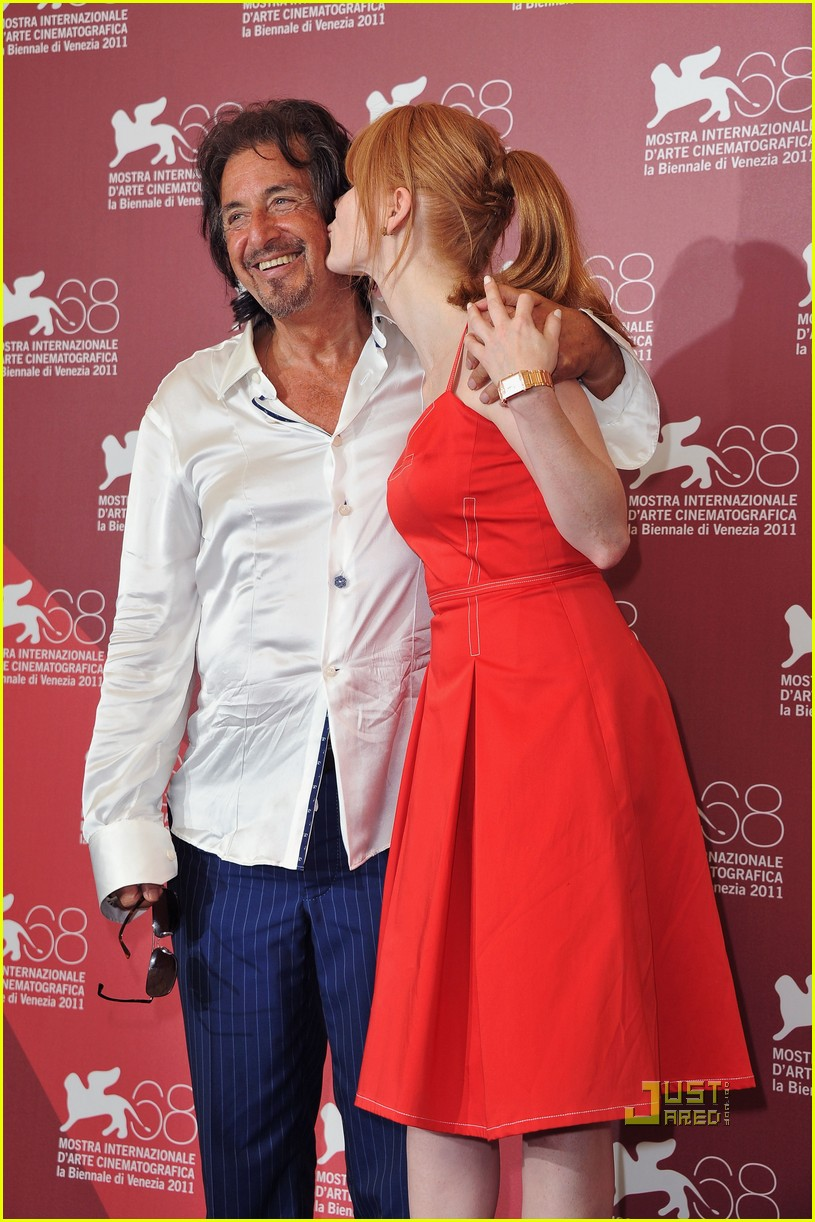 jessica chastain al pacino wild salome photo call 072576595