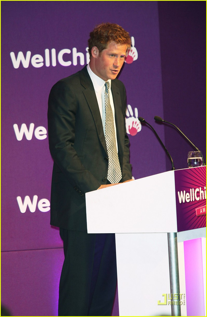 prince harry wellchild awards 12