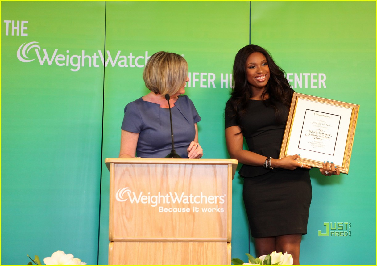 jennifer hudson weight watchers center 09