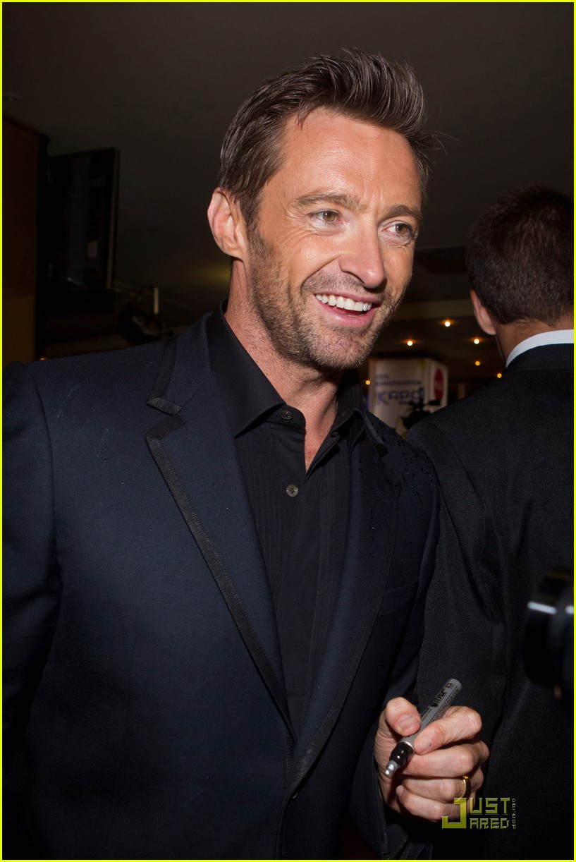 hugh jackman real steel moscow premiere 062577925