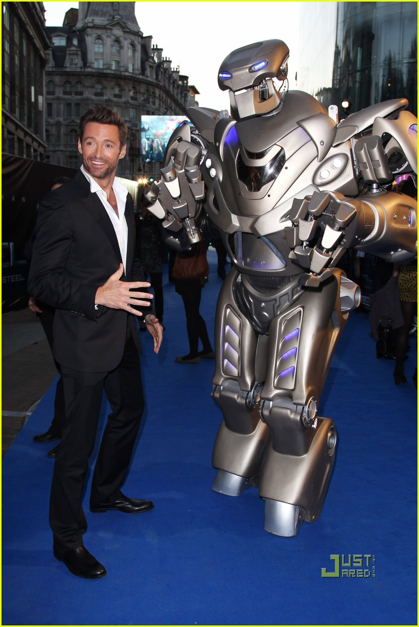 hugh jackman real steel uk premiere 07