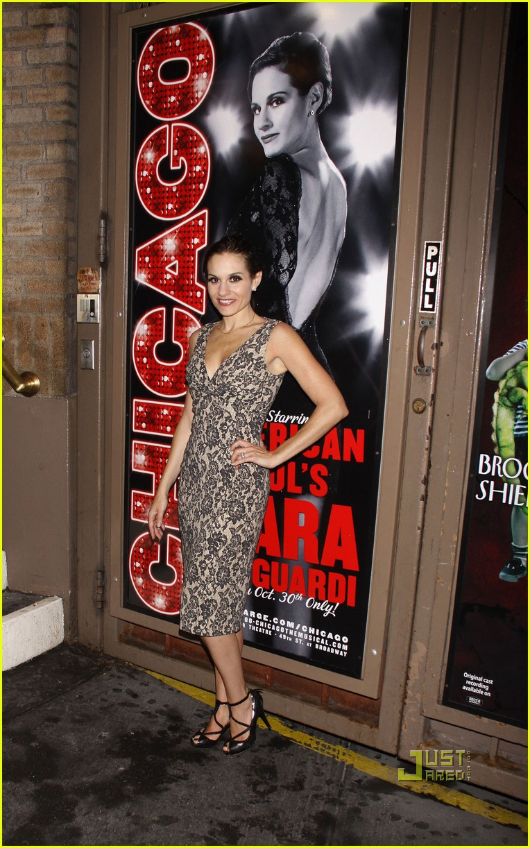 kara dioguardi chicago opening night 02