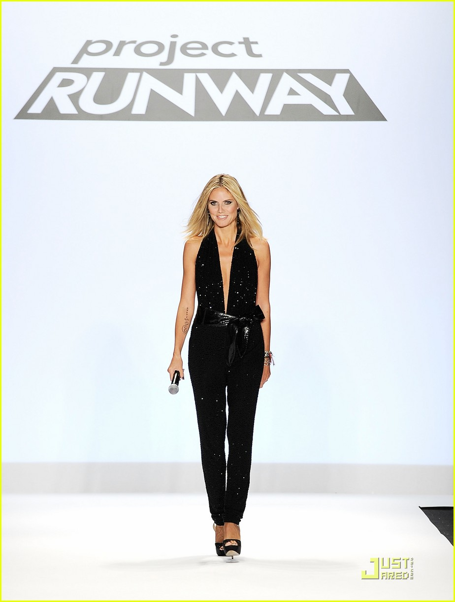 heidi klum project runway christian siriano fashion shows 01