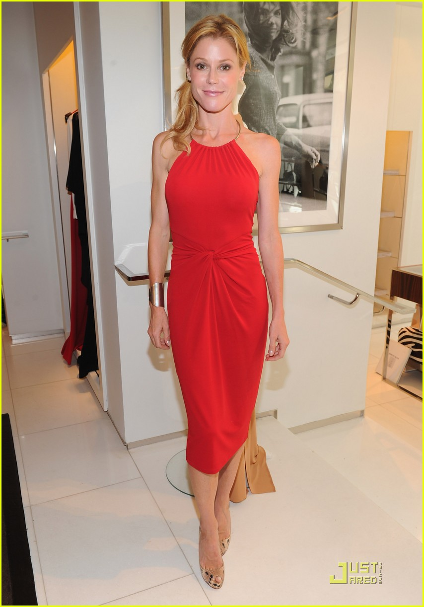 lea michele michael kors luncheon with julie bowen photo 2582352 julie bowen lea michele pictures just jared