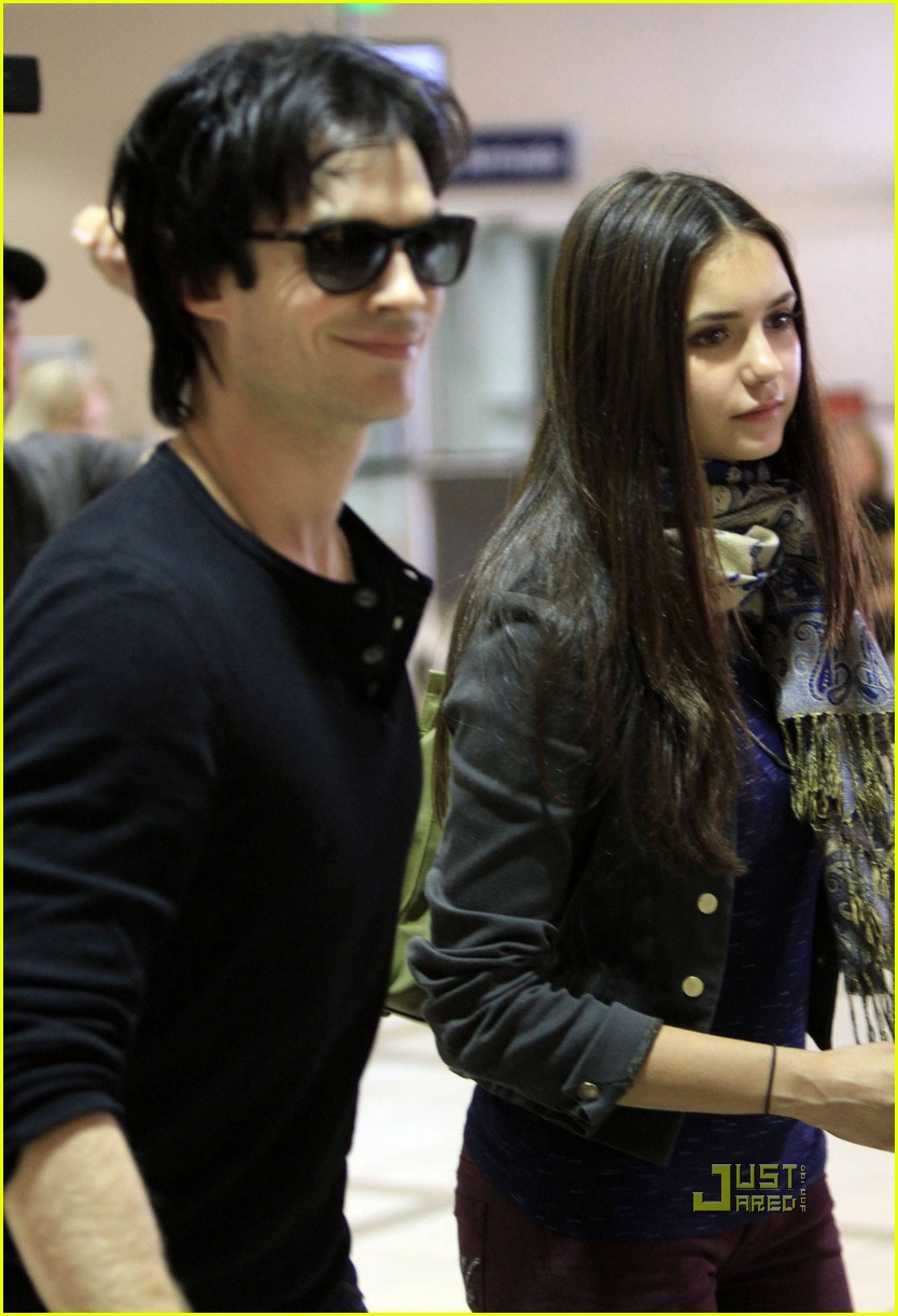 ian somerhalder nina dobrev cw party 04
