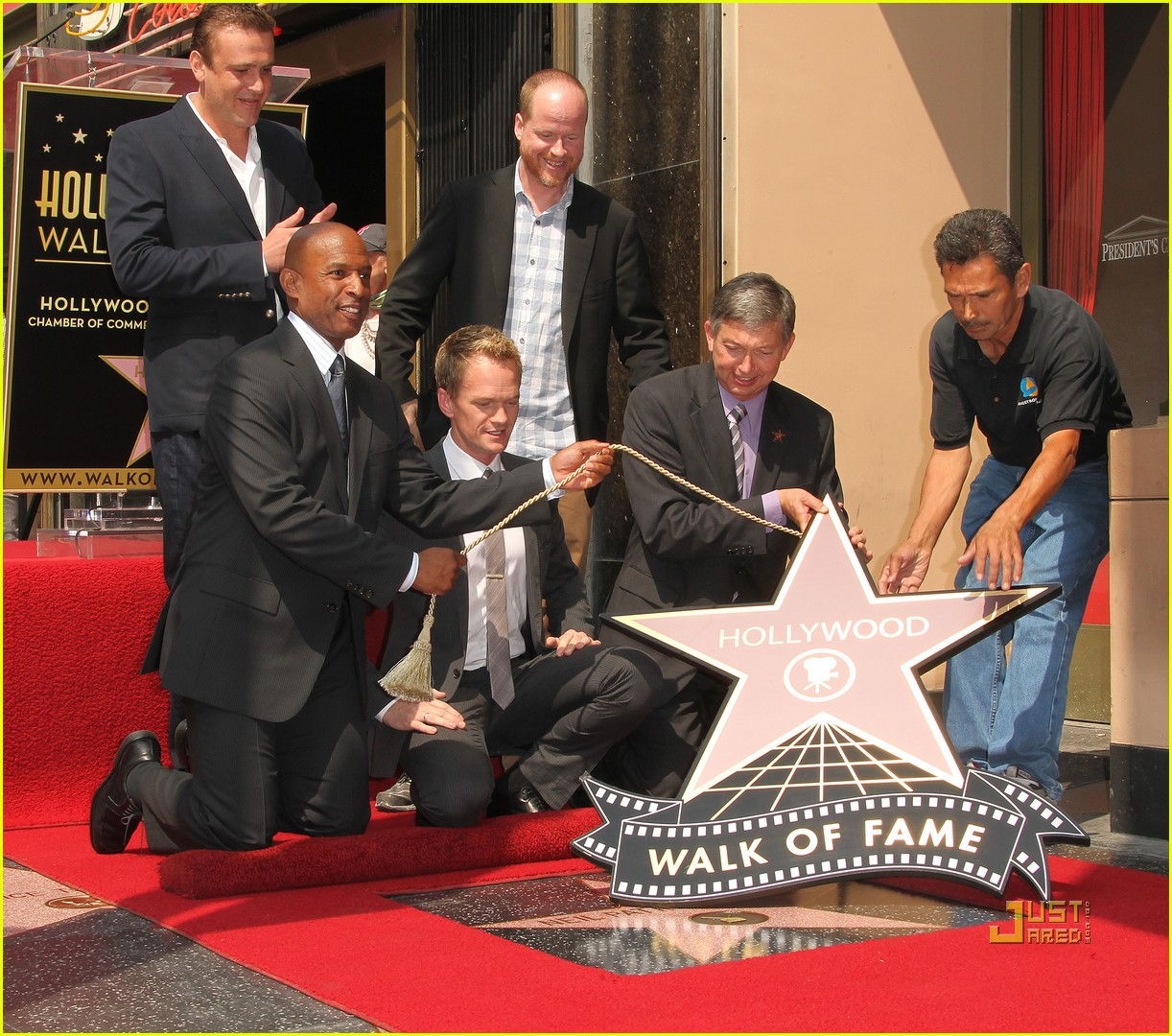 neil patrick harris hollywood walk of fame 06