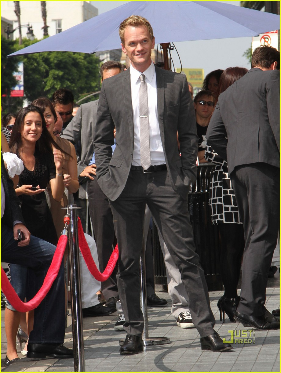 neil patrick harris hollywood walk of fame 12