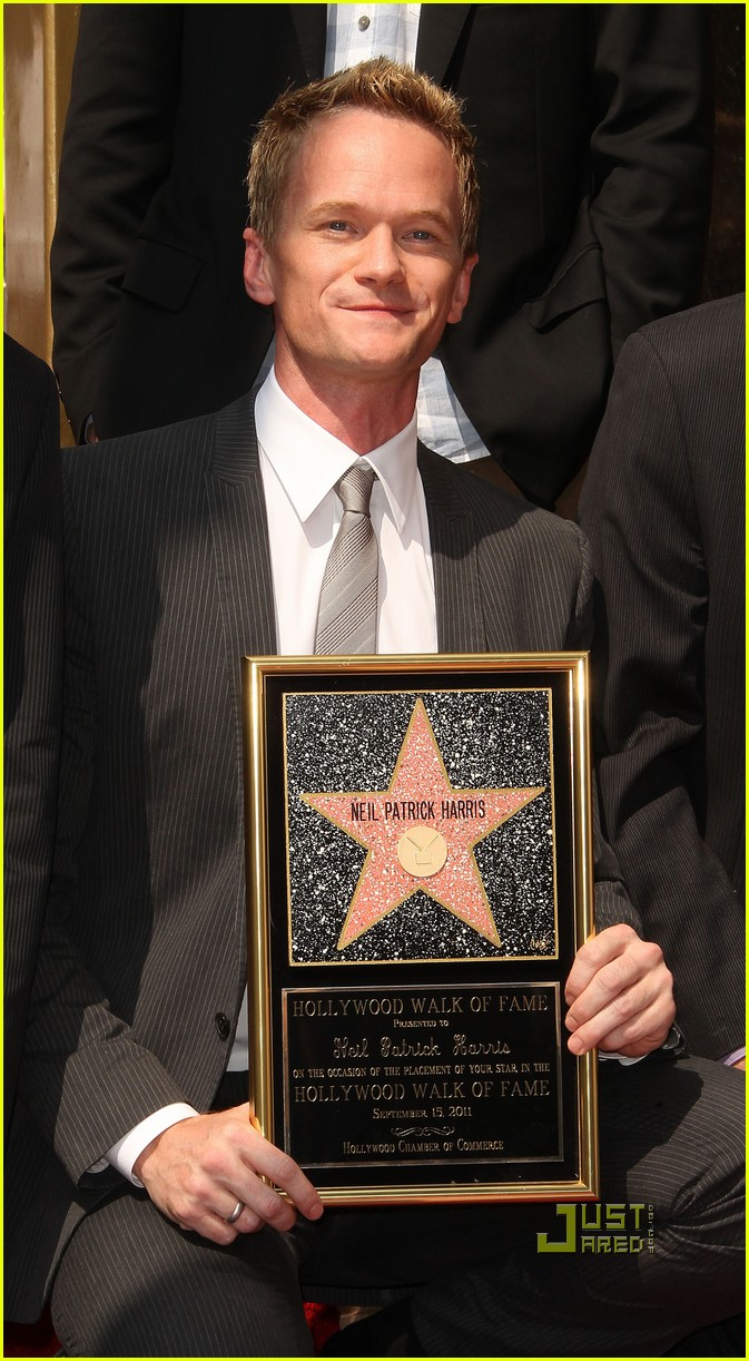 neil patrick harris hollywood walk of fame 14