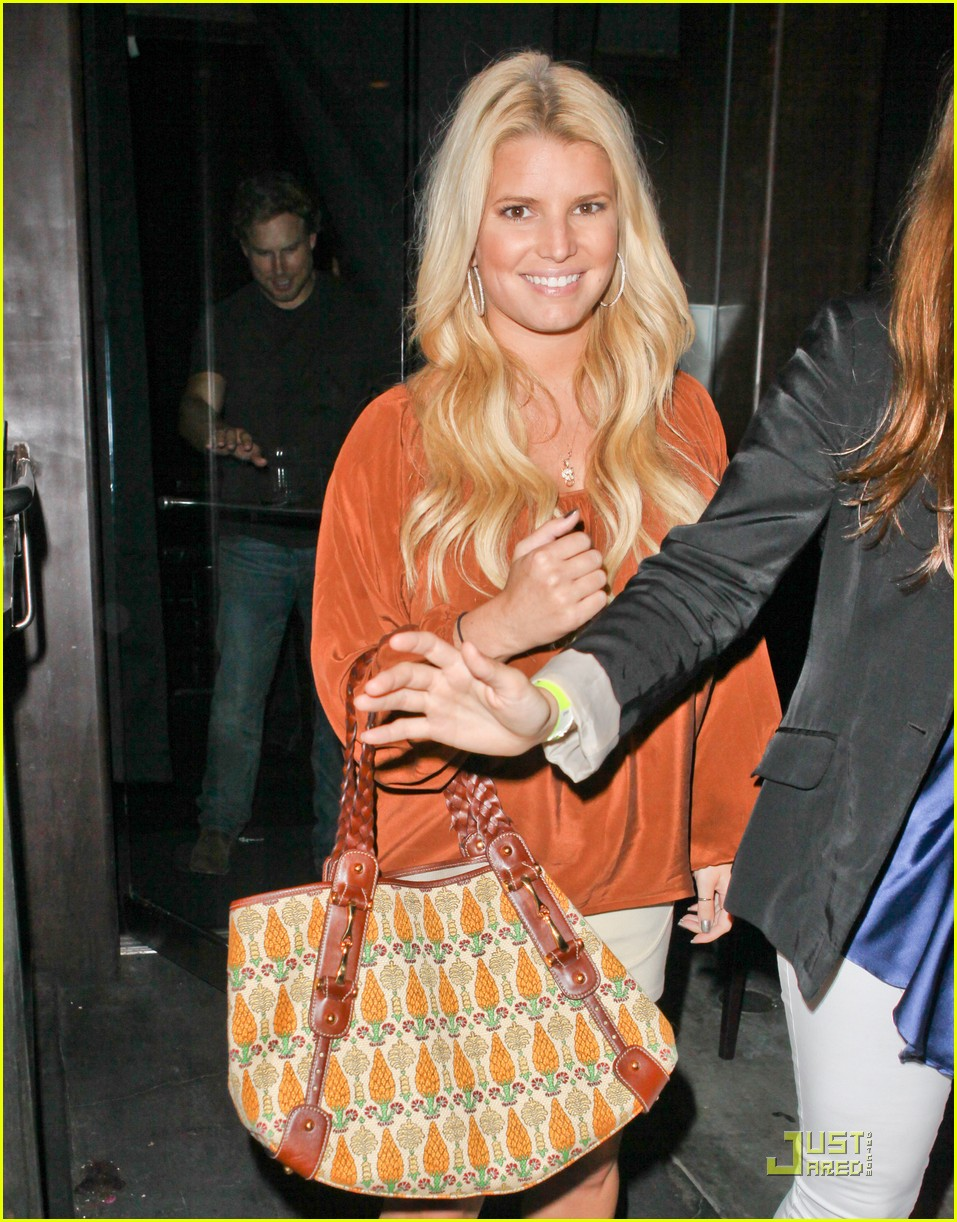 jessica simpson eric johnson one year engagement party 02