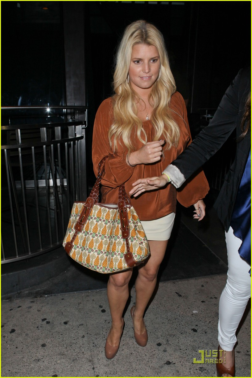 jessica simpson eric johnson one year engagement party 10