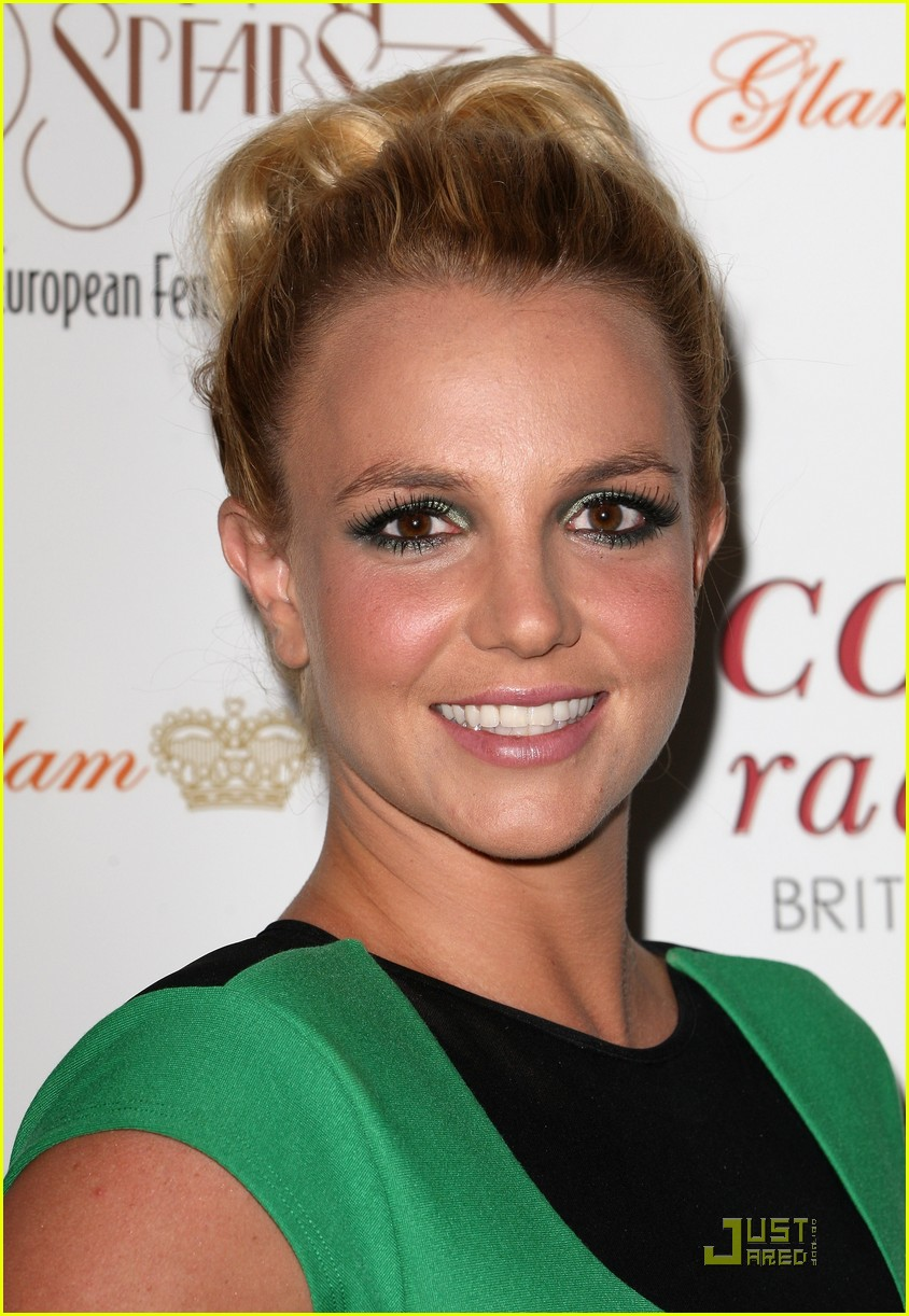 britney spears uk tour launch party 08