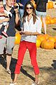 alessandra ambrosio pumpkin patch with anja 08