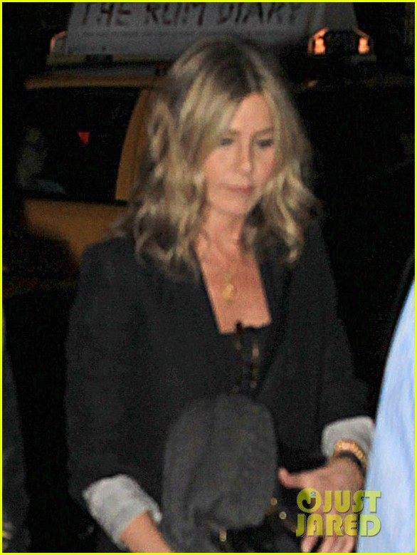 jennifer aniston justin theroux snl after party 05