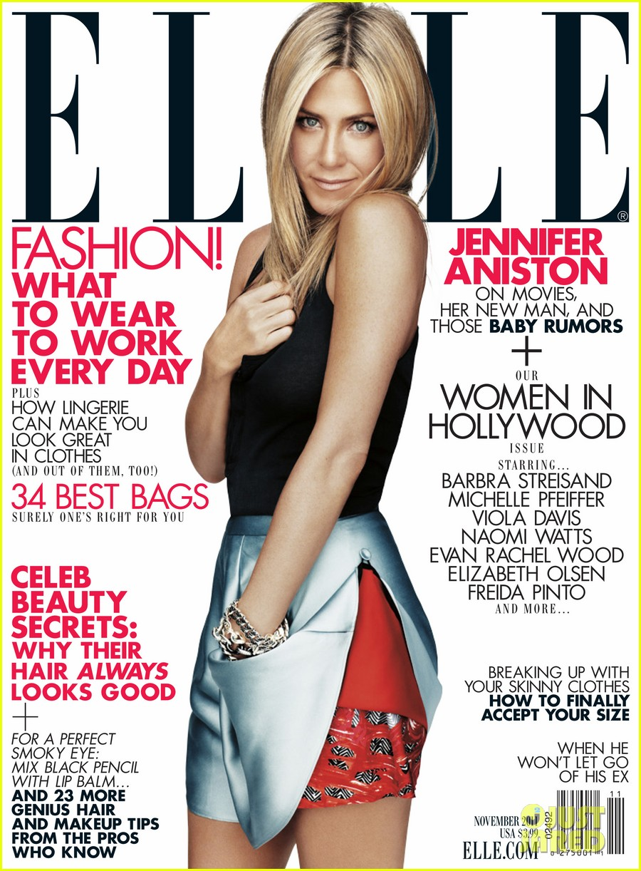 jennifer aniston elle november 01