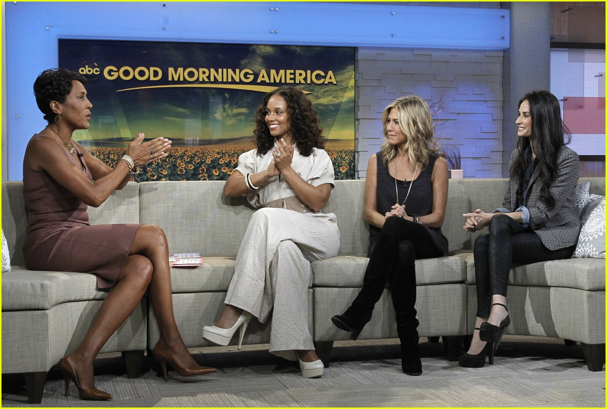 jennifer aniston demi moore alicia keys gma 02