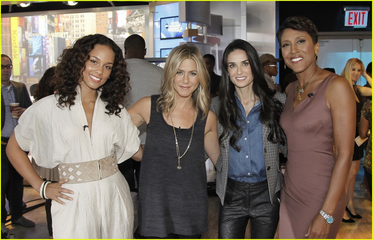 jennifer aniston demi moore alicia keys gma 052587370