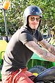 david beckham motorcycle beverly hills 03
