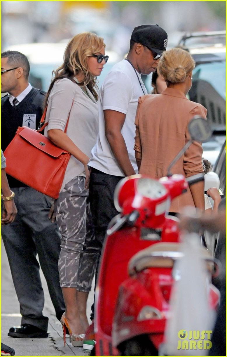 beyonce shopping jay z kanye west 04