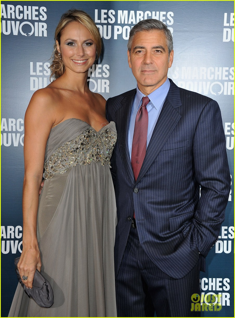 george clooney stacy keibler paris 05