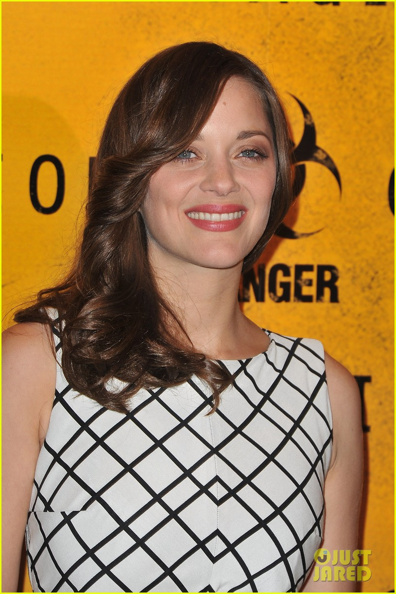 marion cotillard contagion paris photo call 042592861