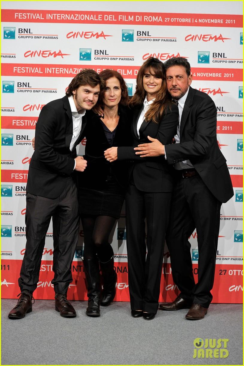 penelope cruz emile hirsch rome film festival 11