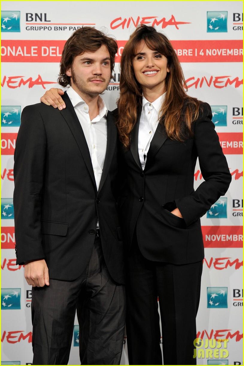penelope cruz emile hirsch rome film festival 18