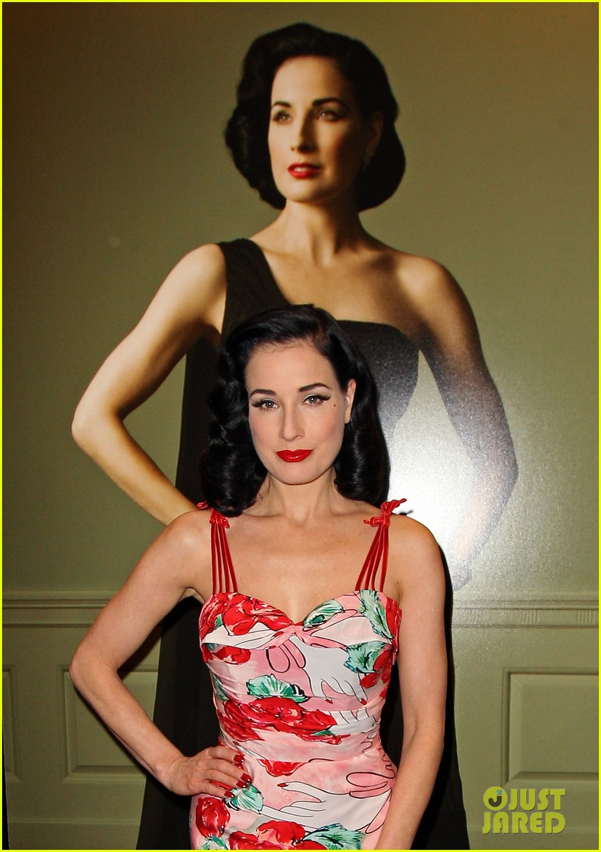 dita von teese australia launch 02