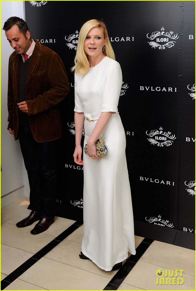 kirsten dunst bulgari eyewear launch 04