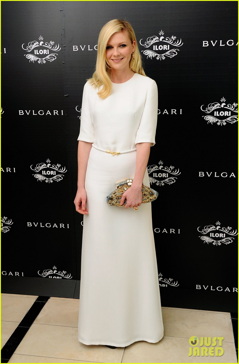kirsten dunst bulgari eyewear launch 06