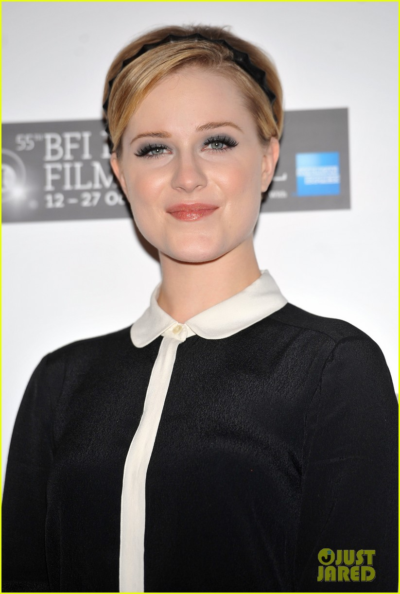 evan rachel wood ides of march photo call london 07