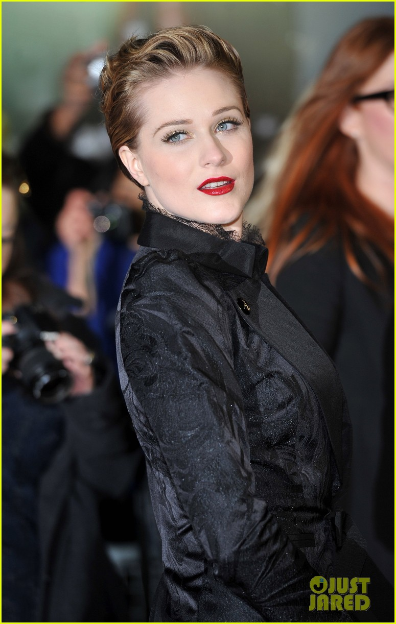 evan rachel wood george clooney ides of march london premiere 08