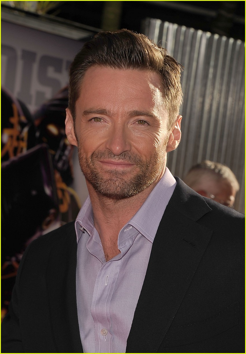 hugh jackman real steel universal city premiere 01