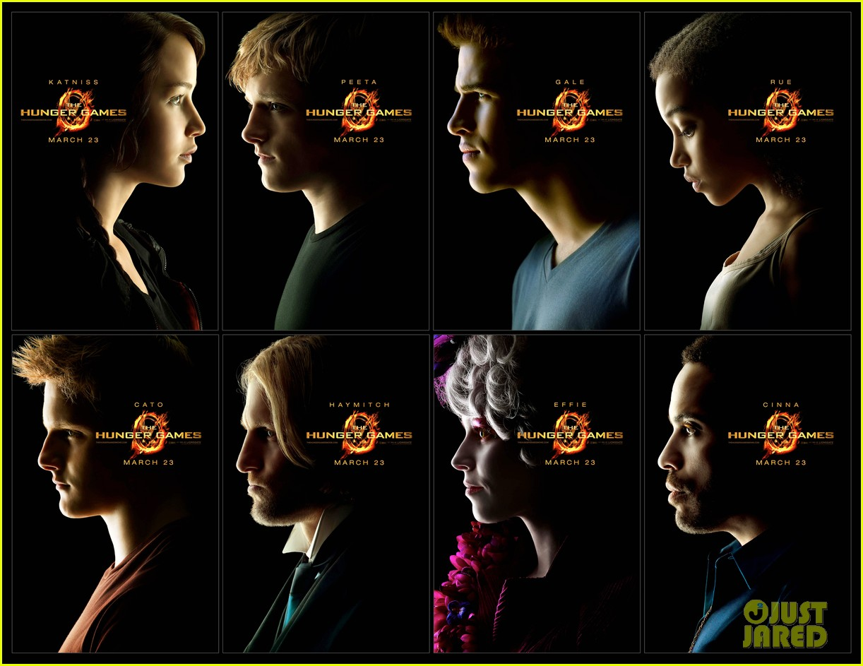 jennifer lawrence new hunger games posters 09