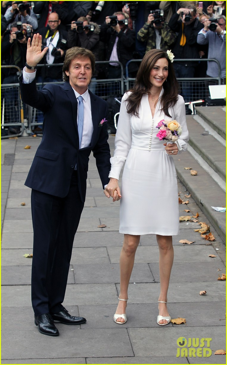 paul mccartney nancy shevell married 06